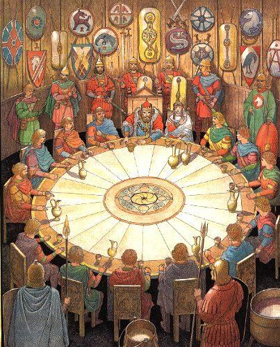 Koning Arthur Ronde Tafel.Koning Arthur Tafelronde